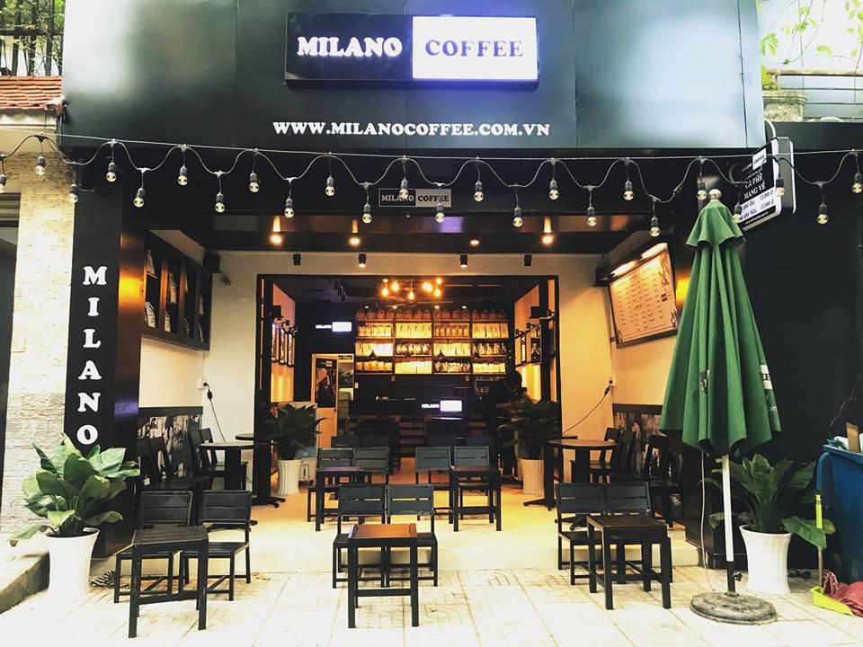 mở quán cà phê milano